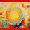 Acrylmalerei, Unendliche welten, Hadesl, Malerei