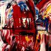 Rot, Malerei, Acrylmalerei,
