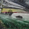 Nebel, Mönchgut, Rügen, Malerei