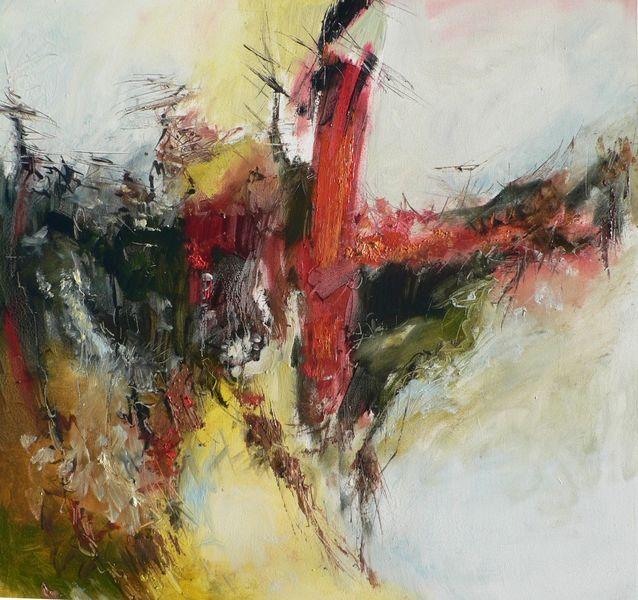 Ölmalerei, Gemälde, Abstrakt, Malerei, Spanien,
