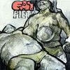 Fett, Fleisch, Nabelfussel, Malerei