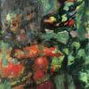 Menschen, Tiere, Wald, Malerei