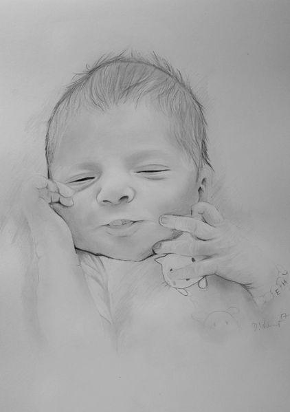 Schlaf, Mädchen, Niedlich, Baby, Kind, Zeichnungen