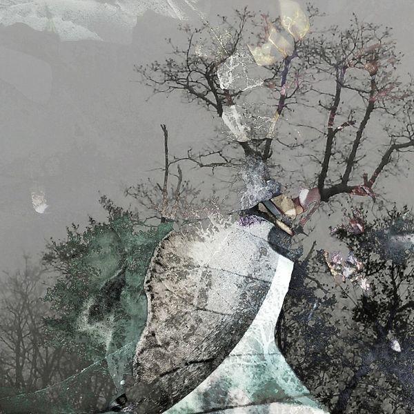 Fotografie, Acrylmalerei, Abstrakt, Zeitgenössisch, Digitale kunst