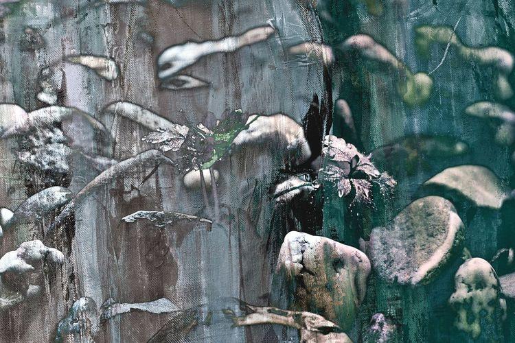 Abstrakt, Acrylmalerei, Zeitgenössisch, Fotografie, Digitale kunst