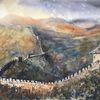 Landschaft, Sonne, China, Mauer