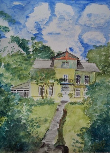 Woltersdorf, Sonne, Nimmel, Berlin, Landschaft, Garten