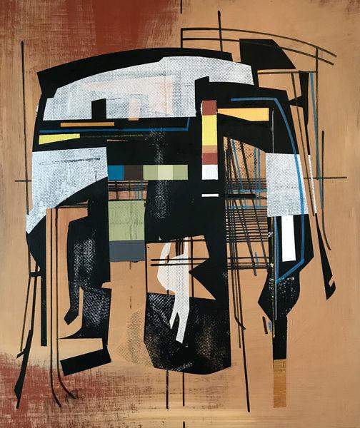 Abstrakt, Metaphysisch, Avantgarde, Zeitgenössisch, Acrylmalerei, Modern