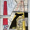 Avantgarde, Luft, Zeichnung, Abstrakt