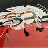 Luft, Metaphysisch, Avantgarde, Acrylmalerei