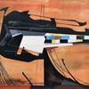 Modern, Acrylmalerei, Technik, Futurismus
