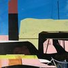 Technologie, Futurismus, Acrylmalerei, Abstrakt