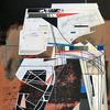 Acrylmalerei, Futurismus, Orbit, Technologie