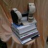 Skulptur, Herrfrau, Buchert, Bücher