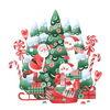 Winter, Schnee, Illustration, Frohe weihnachten