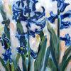 Stillleben, Blumen, Acrylmalerei, Malerei