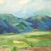 Acrylmalerei, Malerei, Landschaft