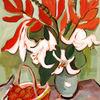Malerei, Acrylmalerei, Blumen