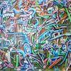 Ölmalerei, Biomechanik, Magenta, Surreal