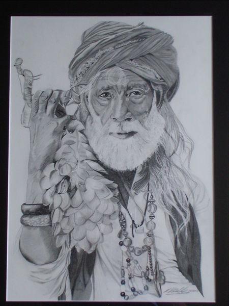 Zeichnungen, Turban
