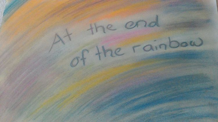 Ende, Of the rainbow, Malerei, Surreal,