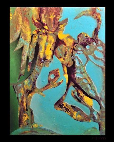 Ausarbeitung, Malerei, Baum,