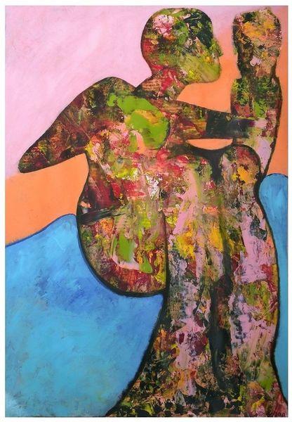 Farben, Menschen, Malerei,