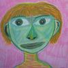 Portrait, Frau, Menschen, Kopf
