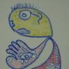Bunt, Kopf, Pastellmalerei, Menschen