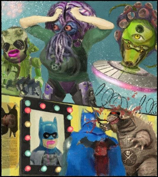 Beelzebub, Ufo, Harmonie, Gehirn, Godzilla, Vernichtung