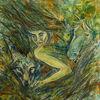 Malerei, Surreal, Figural, Natur