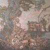 Schloss, Blumen, Dryade, Symbol