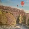 Himmel, Fluss, Wald, Malerei