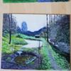 Wald, Farben, Weg, Malerei