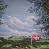 Himmel, Baum, Fahne, Malerei