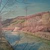 Wasserfall, Landschaft, Wasser, Malerei