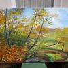 Baum, Blätter, Malerei, November