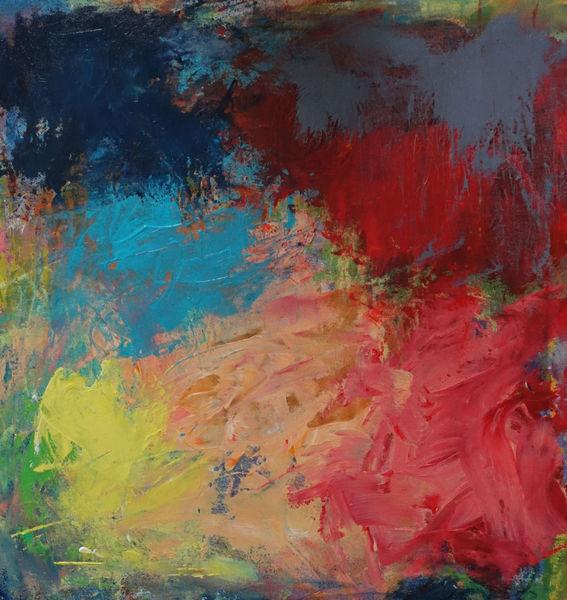 Farben, Freie malerei, Spachteltechnik, Malerei