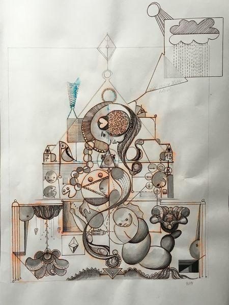Raum, Erinnerung, Formen, Abstrakt, Sonne, Gedanken