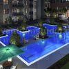 Wohngebiet, Moderne architektur, Steg, Digitale kunst