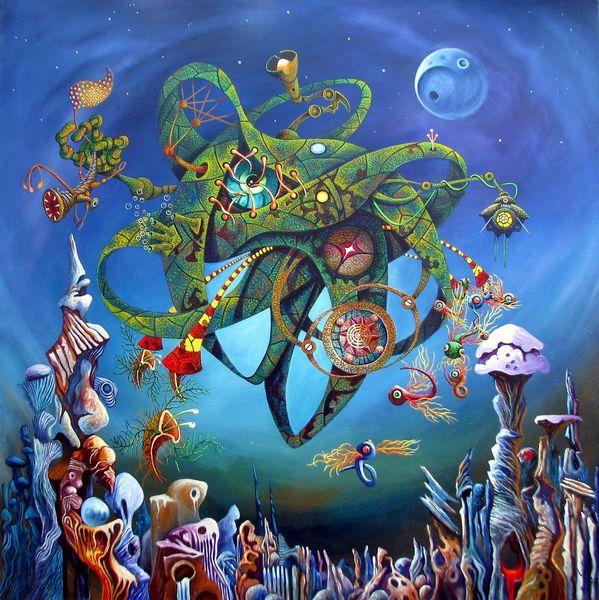 Fremde welten, Mythe, Religion, Genesis, Schöpfung, Malerei