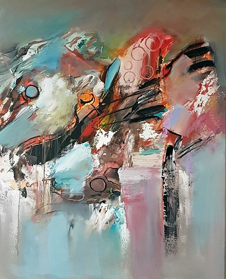 Abstrakte malerei, Abstrakte kunst, Zeitgenössische malerei, Modern, Gemälde abstrakt, Zeitgenössische kunst