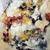 Moderne kunst, Zeitgenössische malerei, Moderne malerei, Gemälde abstrakt