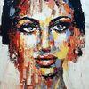 Abstrakte malerei, Moderne malerei, Gemelde abstrakt, Moderne kunst