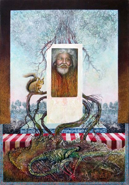 Artofthemystic, Drache, Fantasie, Gemälde, Mythos, Acrylmalerei