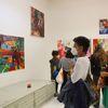 Sommerfest, Parkgalerie, Ausstellung, Pinnwand