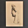 Kohlezeichnung, Zeichnung, Venus, Portrait