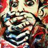 Religion, Kirche, Acrylmalerei, Menschen