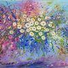 Blumen, Wandbilder, Gemälde, Seelentröster
