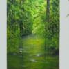 Bach, Frühlingsgefühle, Spreewald, Wald